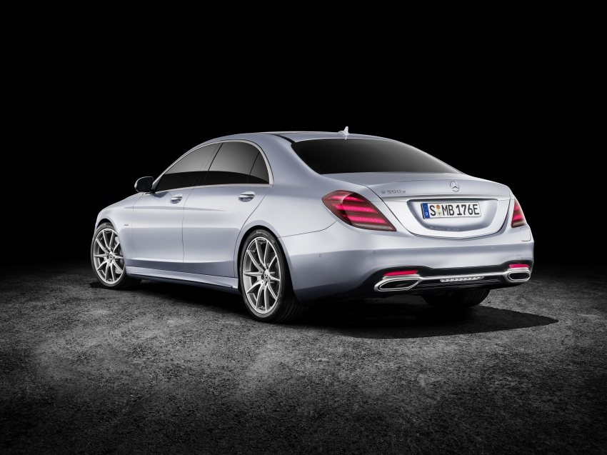 Mercedes-Benz S560e debuts in Frankfurt – up to 50 km of electric driving range, 0-100 km/h in 5 seconds Image #709317