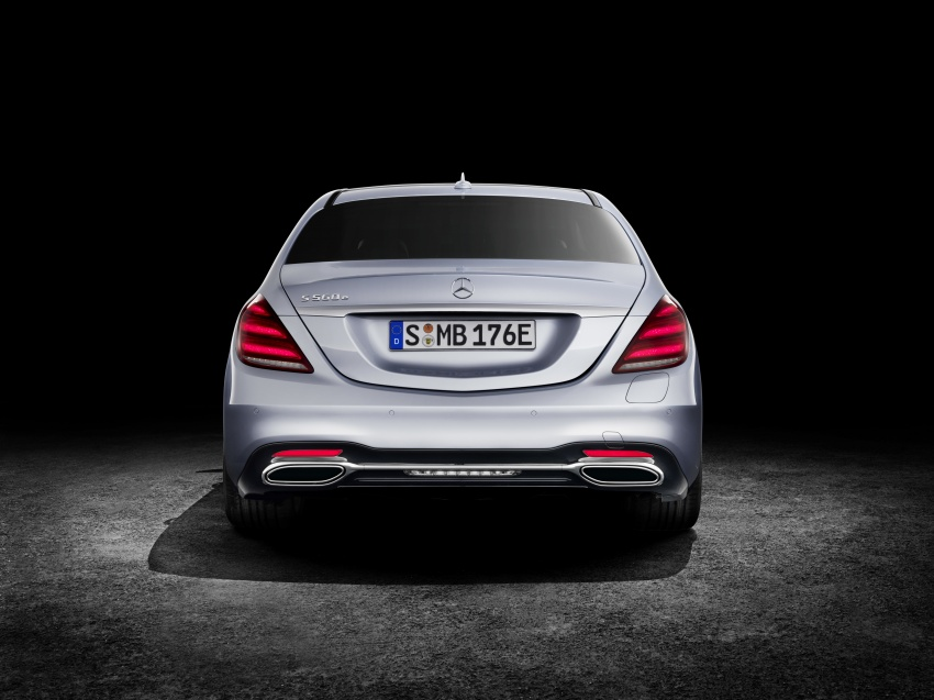 Mercedes-Benz S560e debuts in Frankfurt – up to 50 km of electric driving range, 0-100 km/h in 5 seconds Image #709321