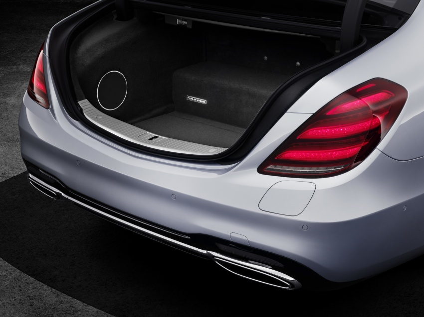 Mercedes-Benz S560e debuts in Frankfurt – up to 50 km of electric driving range, 0-100 km/h in 5 seconds Image #709322