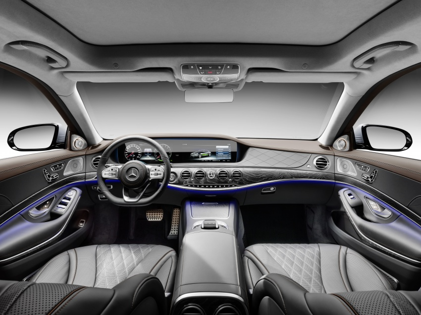 Mercedes-Benz S560e debuts in Frankfurt – up to 50 km of electric driving range, 0-100 km/h in 5 seconds Image #709327