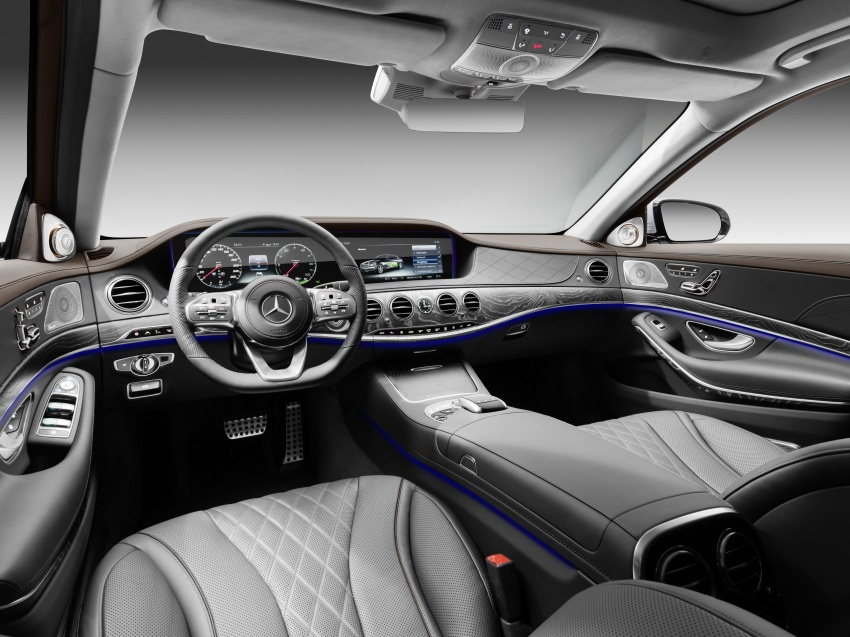Mercedes-Benz S560e debuts in Frankfurt – up to 50 km of electric driving range, 0-100 km/h in 5 seconds Image #709328