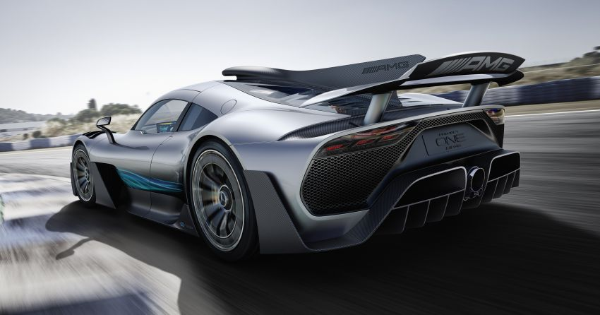 Mercedes-AMG Project One hypercar finally unveiled – sub-6 seconds 0-200 km/h, top speed over 350 km/h Image #708475