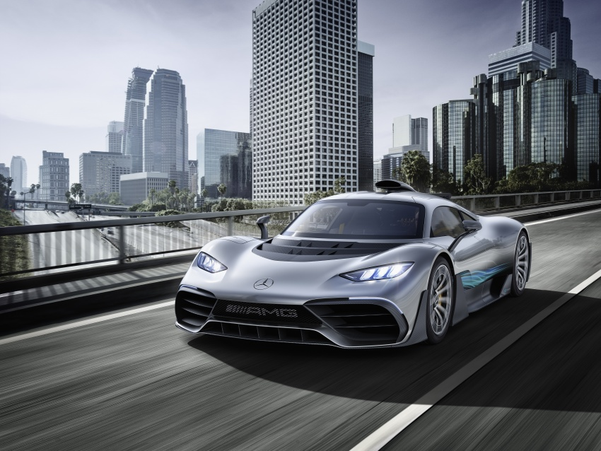 Mercedes-AMG Project One hypercar finally unveiled – sub-6 seconds 0-200 km/h, top speed over 350 km/h Image #708498