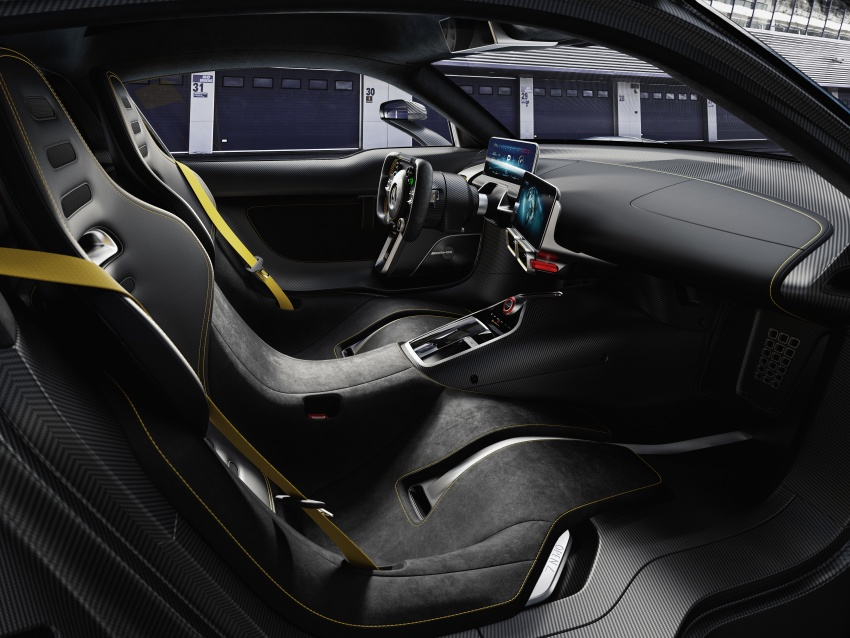 Mercedes-AMG Project One hypercar finally unveiled – sub-6 seconds 0-200 km/h, top speed over 350 km/h Image #708502