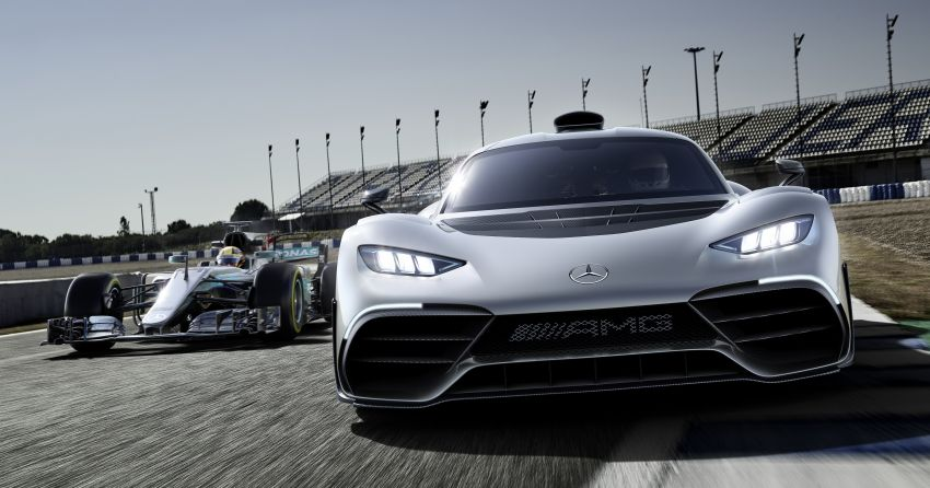 Mercedes-AMG Project One hypercar finally unveiled – sub-6 seconds 0-200 km/h, top speed over 350 km/h Image #708508