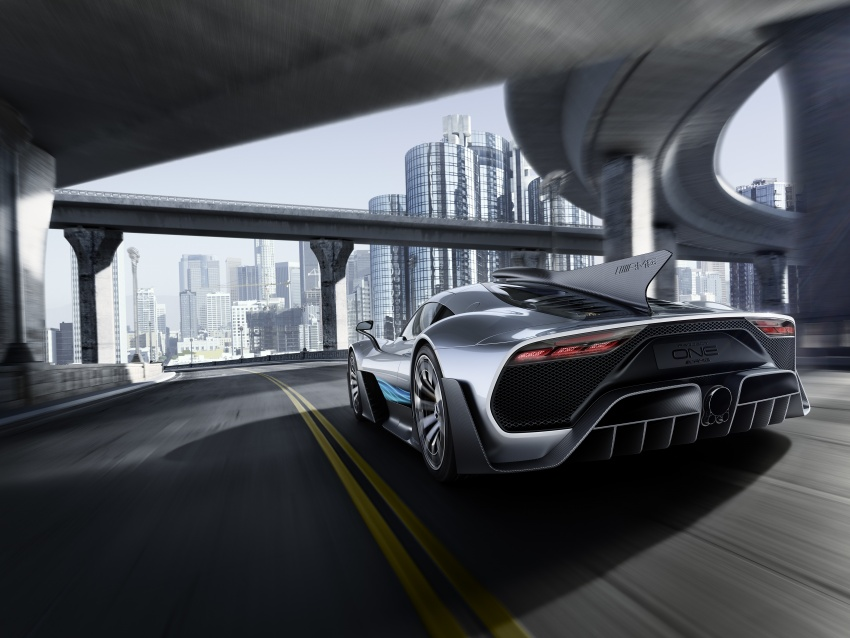 Mercedes-AMG Project One hypercar finally unveiled – sub-6 seconds 0-200 km/h, top speed over 350 km/h Image #708514