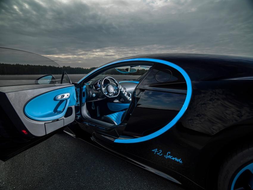 VIDEO: Bugatti Chiron – 0-400-0 km/h in 42 seconds! Image #708348