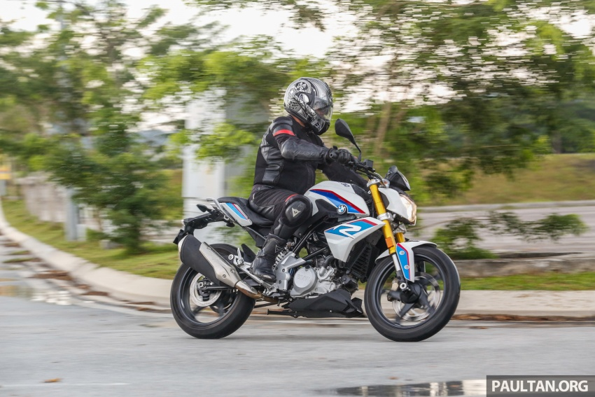 REVIEW: 2017 BMW Motorrad G310R in Malaysia – RM27k with ABS, but is it a proper BMW bike? Image #709581