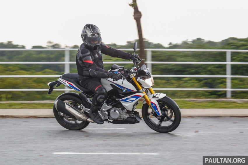 REVIEW: 2017 BMW Motorrad G310R in Malaysia – RM27k with ABS, but is it a proper BMW bike? Image #709583