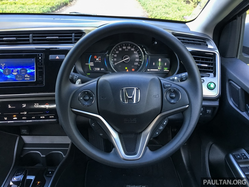 DRIVEN: Honda City Sport Hybrid – charged goodness Image #712093