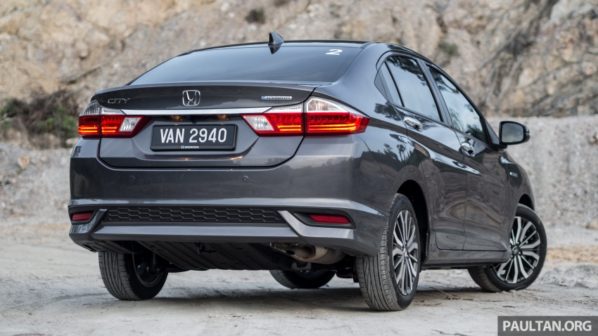 DRIVEN: Honda City Sport Hybrid – charged goodness Image #712002
