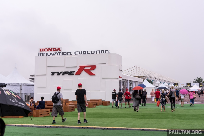 FK8 Honda Civic Type R confirmed for Malaysia – 310 PS hatch on preview this weekend at Sepang F1 race Image #716938