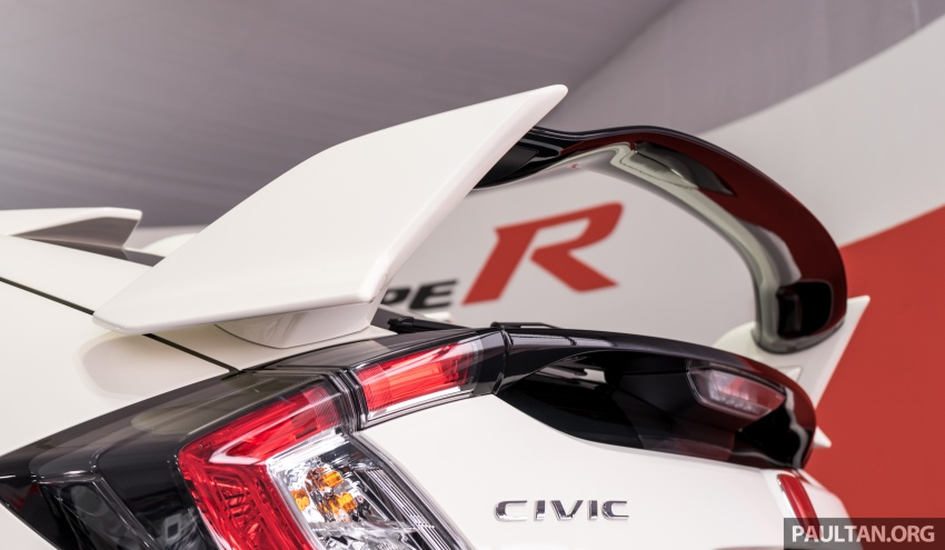 FK8 Honda Civic Type R confirmed for Malaysia – 310 PS hatch on preview this weekend at Sepang F1 race Image #716949