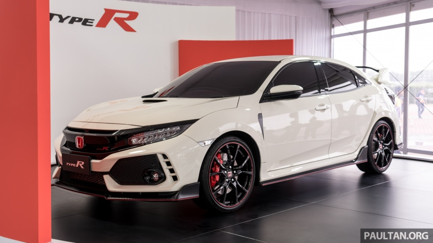 FK8 Honda Civic Type R confirmed for Malaysia – 310 PS hatch on preview this weekend at Sepang F1 race Image #716952