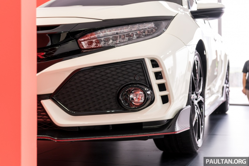 FK8 Honda Civic Type R confirmed for Malaysia – 310 PS hatch on preview this weekend at Sepang F1 race Image #716957