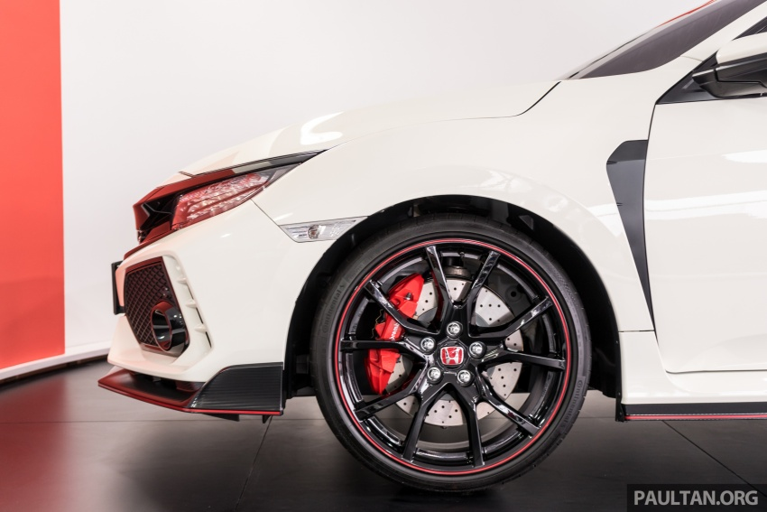 FK8 Honda Civic Type R confirmed for Malaysia – 310 PS hatch on preview this weekend at Sepang F1 race Image #716959