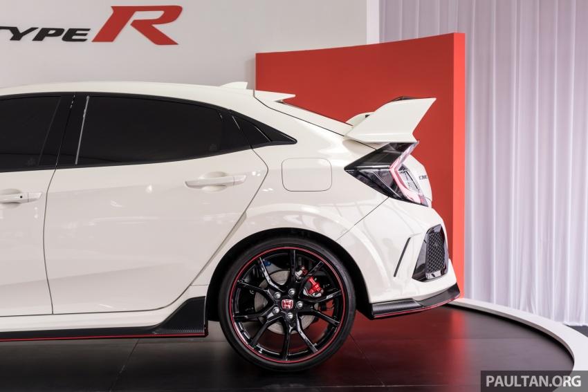 Honda Civic Type R FK8 sah dipasarkan di Malaysia – 310 PS, di prebiu di Litar F1 Sepang, tempahan dibuka Image #717029