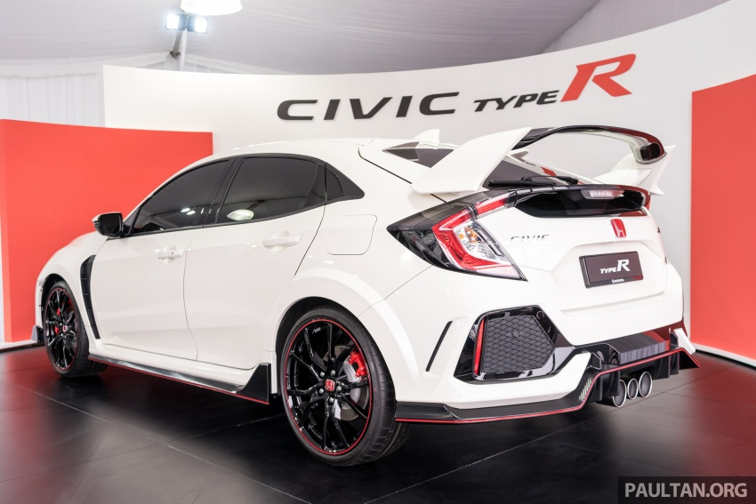 Honda Civic Type R FK8 sah dipasarkan di Malaysia – 310 PS, di prebiu di Litar F1 Sepang, tempahan dibuka Image #717030