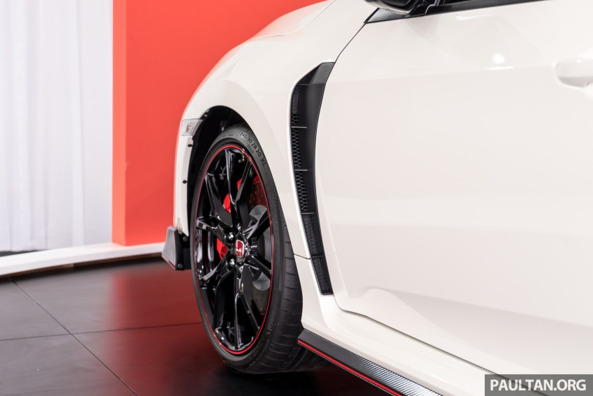 Honda Civic Type R FK8 sah dipasarkan di Malaysia – 310 PS, di prebiu di Litar F1 Sepang, tempahan dibuka Image #717032