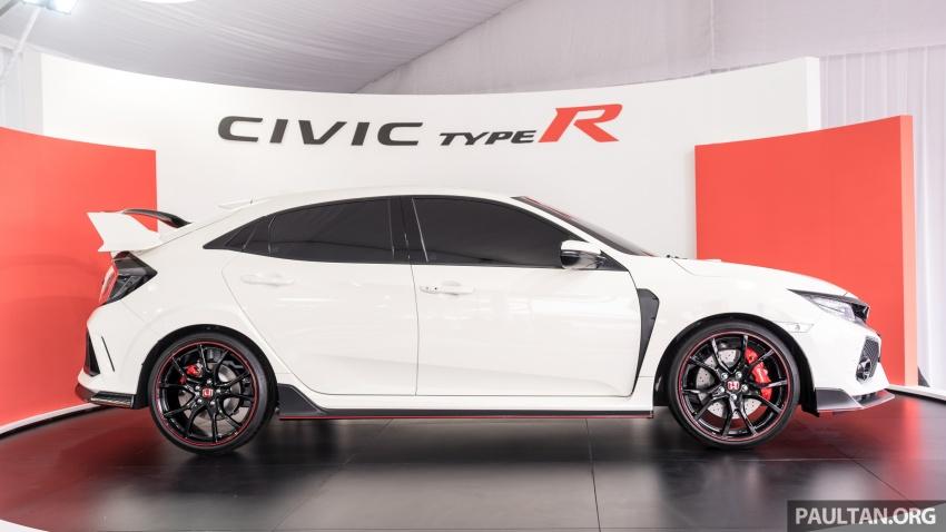 Honda Civic Type R FK8 sah dipasarkan di Malaysia – 310 PS, di prebiu di Litar F1 Sepang, tempahan dibuka Image #717036