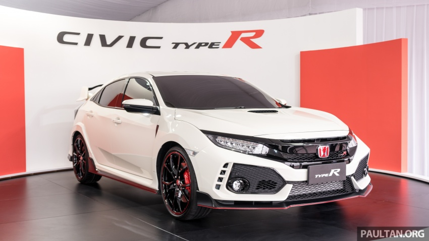 FK8 Honda Civic Type R confirmed for Malaysia – 310 PS hatch on preview this weekend at Sepang F1 race Image #716966
