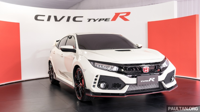 FK8 Honda Civic Type R confirmed for Malaysia – 310 PS hatch on preview this weekend at Sepang F1 race Image #716967