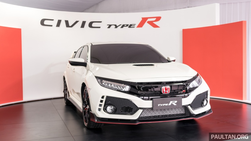 FK8 Honda Civic Type R confirmed for Malaysia – 310 PS hatch on preview this weekend at Sepang F1 race Image #716968