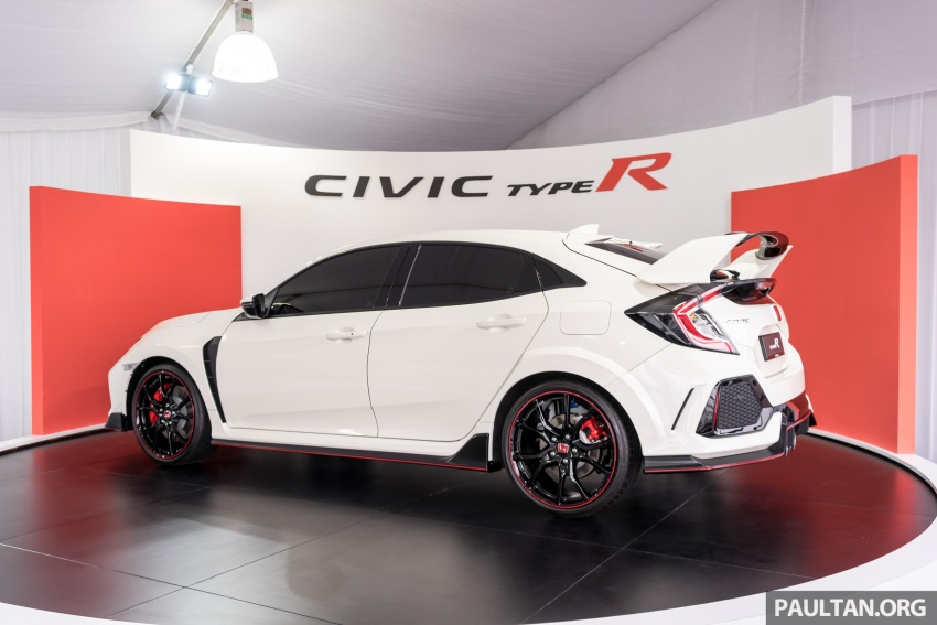 FK8 Honda Civic Type R confirmed for Malaysia – 310 PS hatch on preview this weekend at Sepang F1 race Image #716940