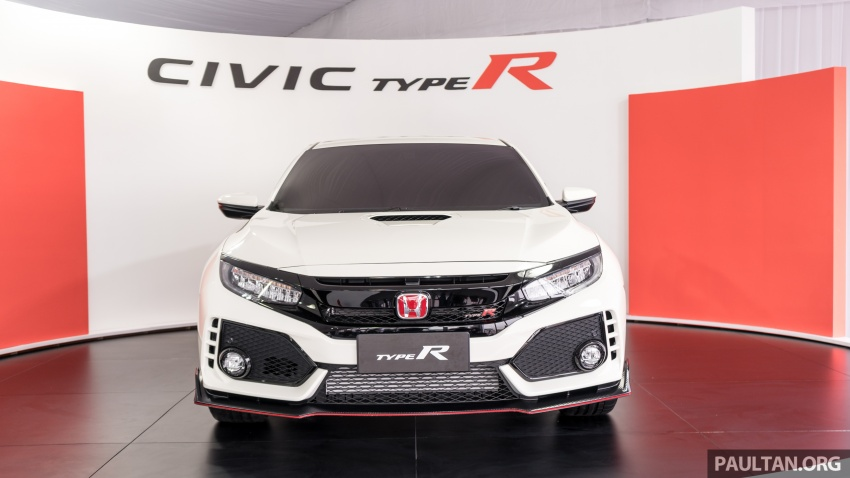FK8 Honda Civic Type R confirmed for Malaysia – 310 PS hatch on preview this weekend at Sepang F1 race Image #716969