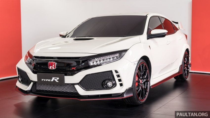 FK8 Honda Civic Type R confirmed for Malaysia – 310 PS hatch on preview this weekend at Sepang F1 race Image #716970