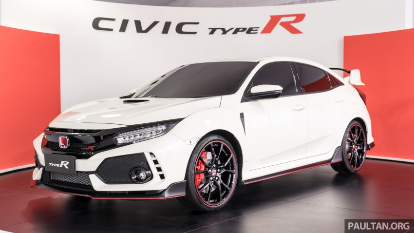 Honda Civic Type R FK8 sah dipasarkan di Malaysia – 310 PS, di prebiu di Litar F1 Sepang, tempahan dibuka Image #717043