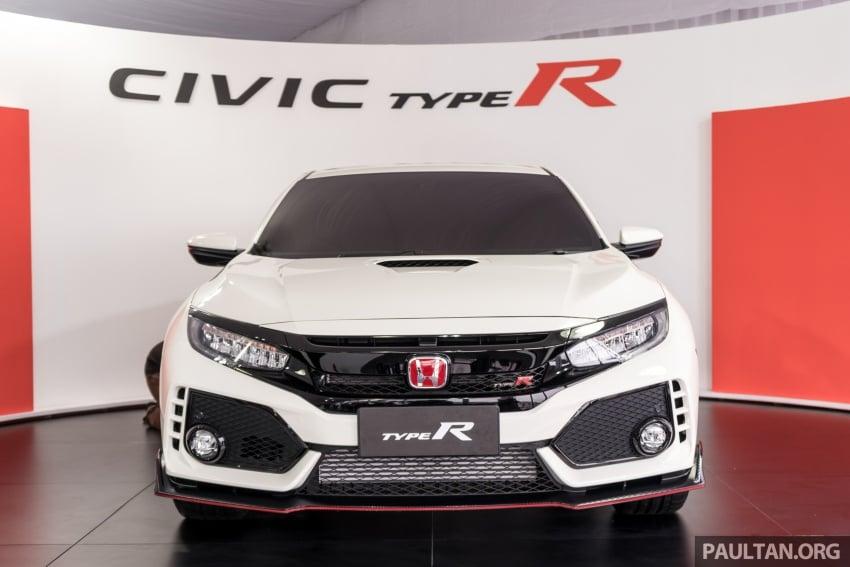 Honda Civic Type R FK8 sah dipasarkan di Malaysia – 310 PS, di prebiu di Litar F1 Sepang, tempahan dibuka Image #717045