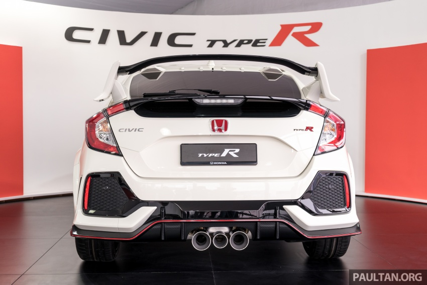 FK8 Honda Civic Type R confirmed for Malaysia – 310 PS hatch on preview this weekend at Sepang F1 race Image #716974