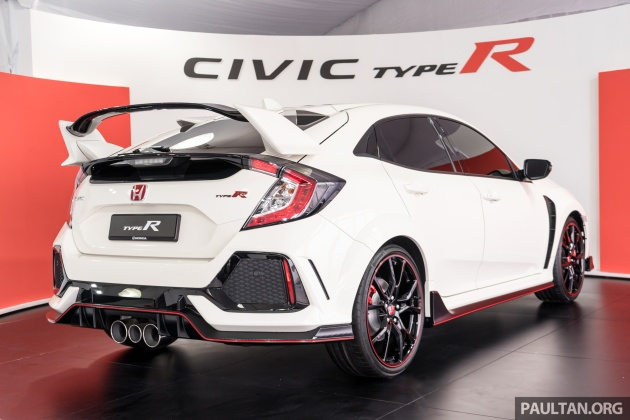 Civic Type R Awd >> FK8 Honda Civic Type R launched in Malaysia: RM320k