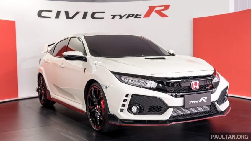 FK8 Honda Civic Type R confirmed for Malaysia – 310 PS hatch on preview this weekend at Sepang F1 race Image #716976
