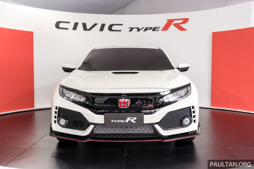 FK8 Honda Civic Type R confirmed for Malaysia – 310 PS hatch on preview this weekend at Sepang F1 race Image #716977