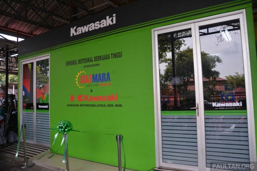 Kawasaki launches Superbike Training Programme Image #711333