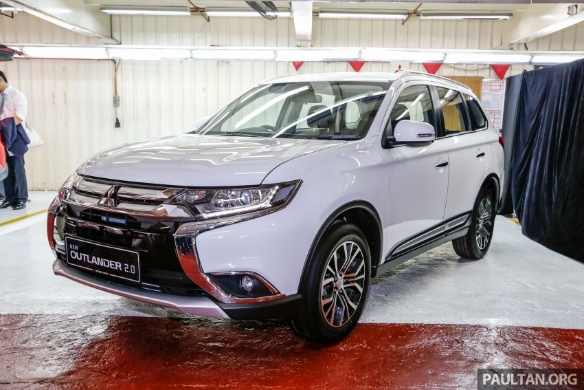 Mitsubishi Outlander 2.0 AWD CKD debuts – RM140k Image #709967