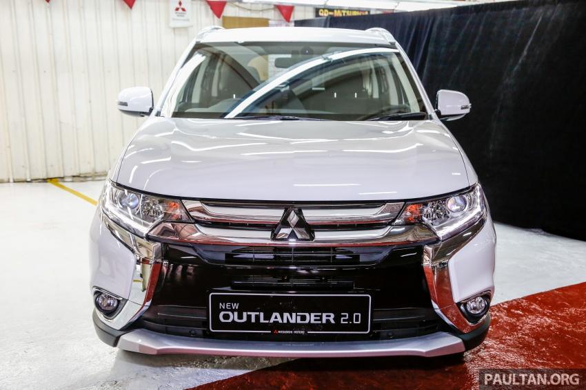 Mitsubishi Outlander 2.0 AWD CKD debuts – RM140k Image #709968