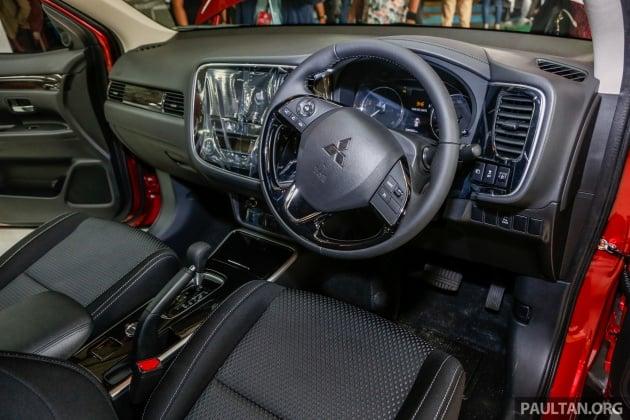 Mitsubishi Outlander 2.0 AWD CKD debuts - RM140k