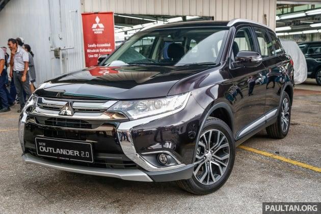 Mitsubishi Outlander 2 0 Awd Ckd Debuts Rm140k Paultan Org