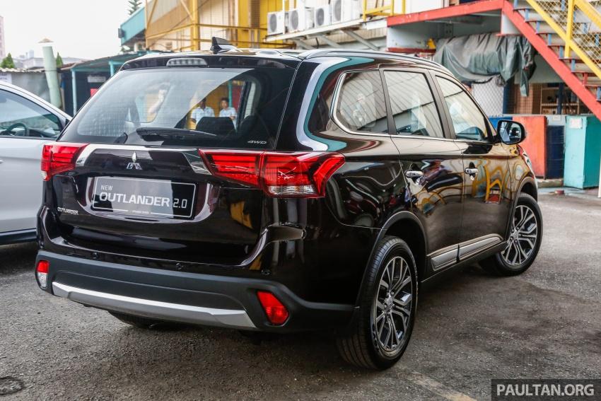 Mitsubishi Outlander 2.0 AWD CKD debuts – RM140k Image #709993