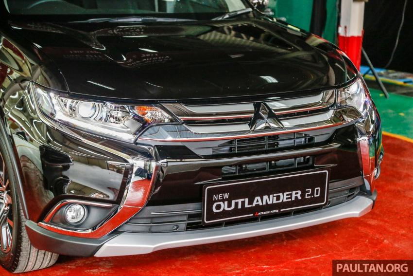 Mitsubishi Outlander 2.0 AWD CKD debuts – RM140k Image #710167