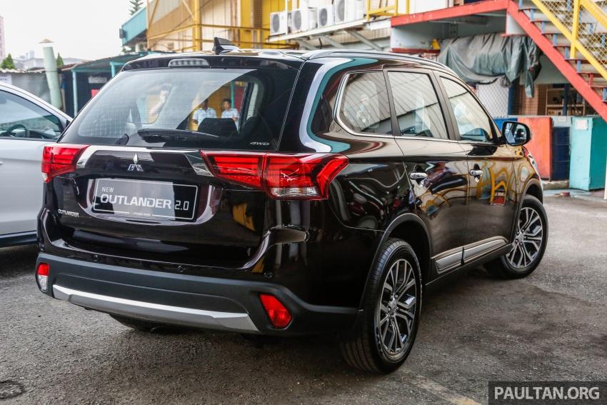 Mitsubishi Outlander 2.0 AWD CKD debuts – RM140k Image #710154