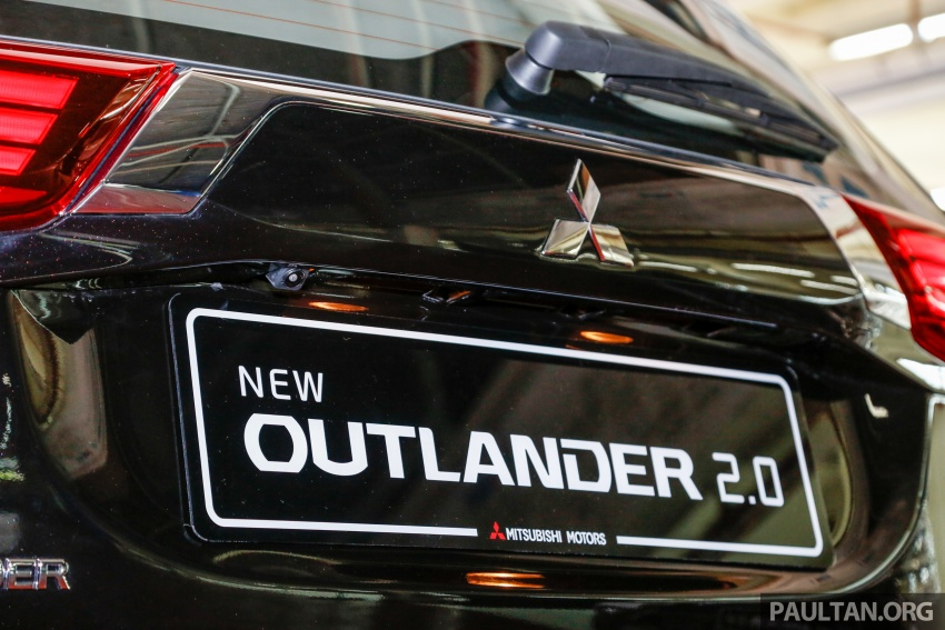 Mitsubishi Outlander 2.0 AWD CKD debuts – RM140k Image #710183