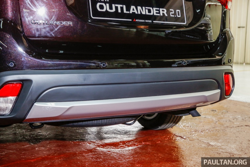 Mitsubishi Outlander 2.0 AWD CKD debuts – RM140k Image #710184