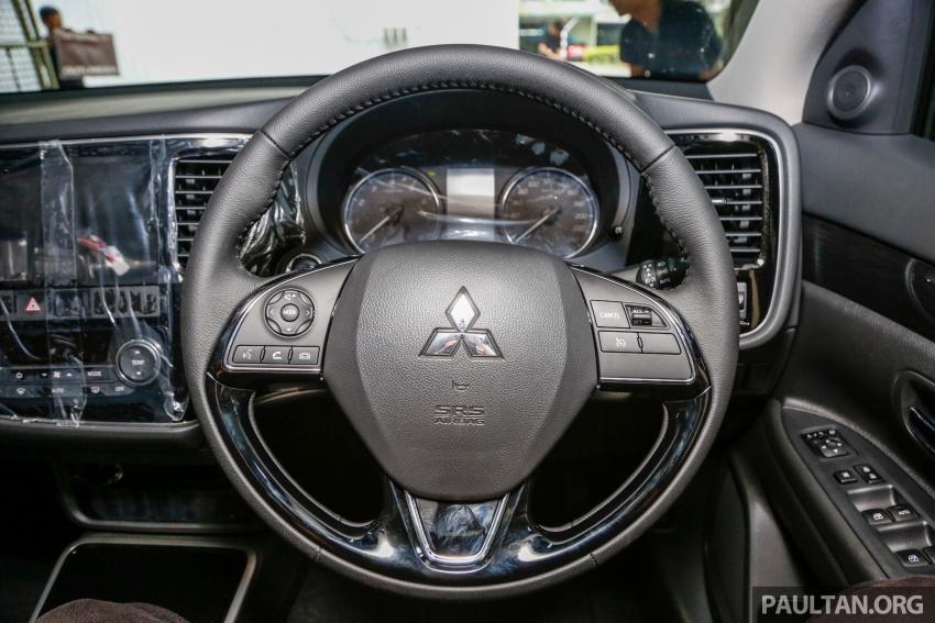 Mitsubishi Outlander 2.0 AWD CKD debuts – RM140k Image #710216