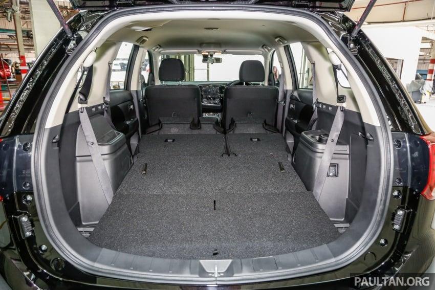 Mitsubishi Outlander 2.0 AWD CKD debuts – RM140k Image #710255
