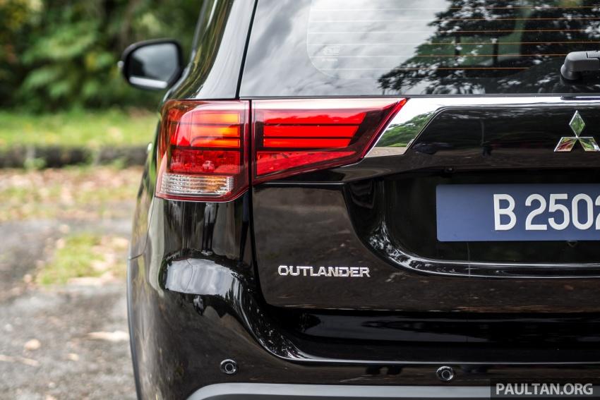 Mitsubishi Outlander 2.0 AWD CKD debuts – RM140k Image #709625