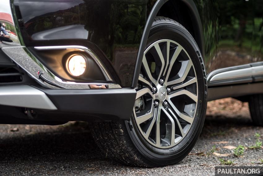 Mitsubishi Outlander 2.0 AWD CKD debuts – RM140k Image #709619